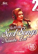 TOP 50 HITS - SAD SONGS NASEEBO LAL (4 CD Set)
