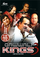 QAWWALI KINGS 3 (4 CD Set)